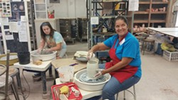 Pottery class at RoCA - Uploaded by RoCA