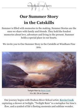 Our Summer Story in the Catskills - Uploaded by Windham Fine Arts