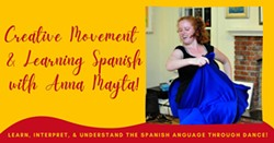 Creative Movement & Learning Spanish - Uploaded by CornellCreative