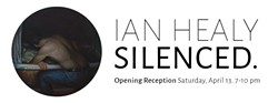 Solo Exhibition Ian Healy Silenced. - Uploaded by Bellans