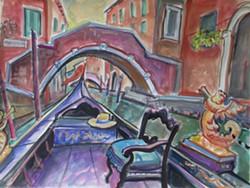 Gondola View - Uploaded by 510 Warren Street Gallery