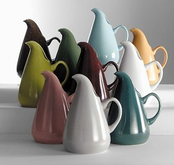 American Modern pitchers by Russel Wright - Uploaded by Communications_Manitoga
