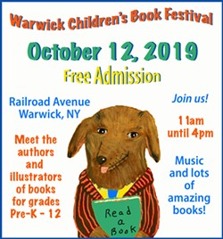 Warwick Children's Book Festival Welcomes the Young at Heart - Uploaded by Lisa Laico
