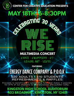 "Center for Creative Education's ""We Rise"" Multimedia Concert - Uploaded by Lana Chassman"
