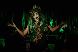 Cabaret Artist Salty Brine in Welcome to the Jungle - Uploaded by Lauren L.