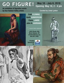 Four established Hudson Valley artists showing at Olive Free Library, May 18 - July 6, 2019 - Uploaded by Lyntonart