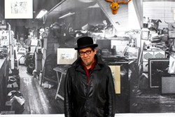 Joe Baiza (pictured) w/ Jason Kahn - Uploaded by Daniel Rhinier