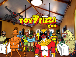 One Day event featuring Action Figures, Comic Books, and of course...Pizza! - Uploaded by OliviaHarris