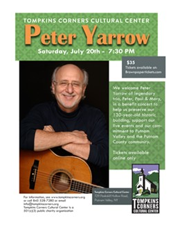 Peter Yarrow Benefit Concert at Tompkins Corners - Uploaded by Tompkins Corners