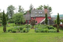 Jermain Hill Farm on the Hoosick Blooms garden tour - Uploaded by Civi