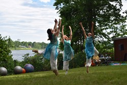 PCDP dancers performing Global Water Dances at Arts on the Lake in Putnam County - Uploaded by Dancinglight36