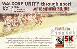 Sport Unites Community 5k - Uploaded by Otto Specht School