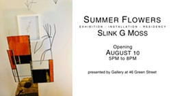 Summer Flowers by Slink G. Moss - Uploaded by gallery fortysix