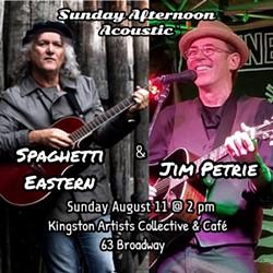 Sal Cataldi (Spaghetti Eastern) and Jim Petrie - Uploaded by Sal Cataldi