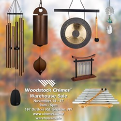 Woodstock Chimes Semi-Annual Warehouse Sale - Uploaded by Fatimah