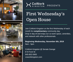First Wednesday's Open House - Uploaded by Eliza Edge