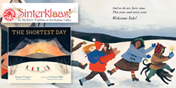 THE SHORTEST DAY by Susan Cooper and illustrated by Carson Ellis - Uploaded by Oblong Books