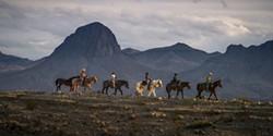 On horse on the Rio Grande - Uploaded by Bob Elmendorf