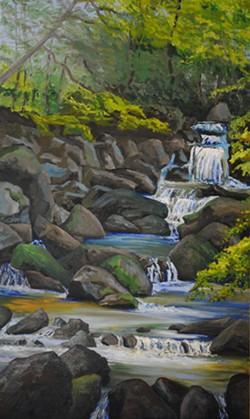 In the Wilderness: Hidden Falls - Uploaded by Lyntonart