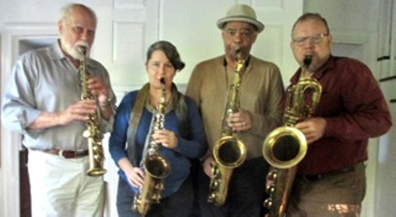 e06b66640 Guzmango Sax Quartet | Rail Trail Cafe | Music | Hudson Valley ...