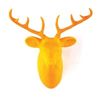 Well-Spent: The Home and Body Edition Urban Taxidermy deer hook, at Dream in Plastic, Beacon