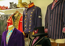 PROVIDED BY BETHEL WOODS CENTER FOR THE ARTS - Vintage and Current Rock Fashions from Andy Hilfiger's Personal Collection