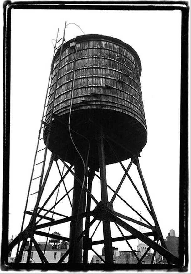 Water tower in Chelsea, 1998.