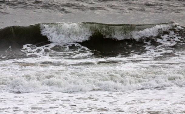 Waves breaking at Montauk. - ERIC FRANCIS COPPOLINO