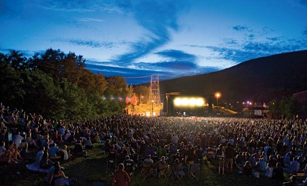 Wilco Solid Sound Festival at Mass Moca. - RICK LEVINSON