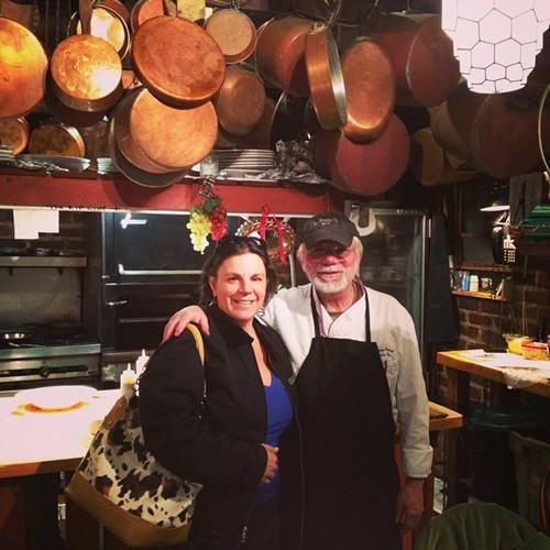 Writer Vanessa Ahern and Chef John Novi