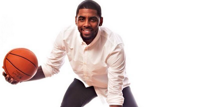 PHOTO VIA TWITTER, @KYRIEIRVING