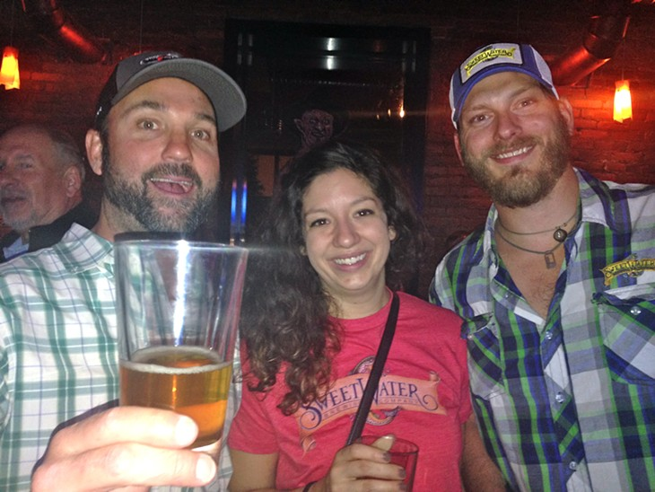 10 Photos of the Scene Events Team at the Sweet Water Tap Takeover