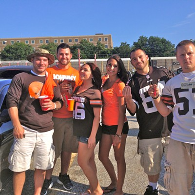 10 Photos of the Scene Events Team Driven by Fiat of Strongsville at The Browns Muni Lot Tailgate for the Preseason Game Against the St. Louis Rams