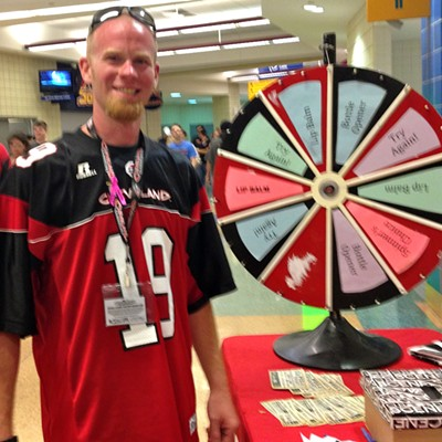 10 Photos of the Scene Events Team Driven by Fiat of Strongsville at The Cleveland Gladiators ArenaBowl Championship