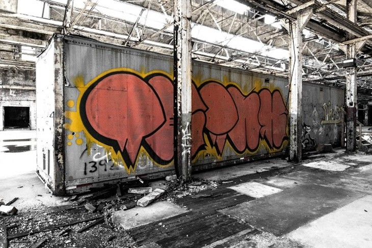 11 Photos of Cleveland's Graffiti Scene