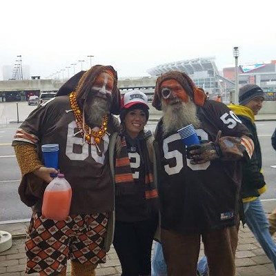 11 Photos of the Scene Events Team at the Browns vs. Bengals Tailgate