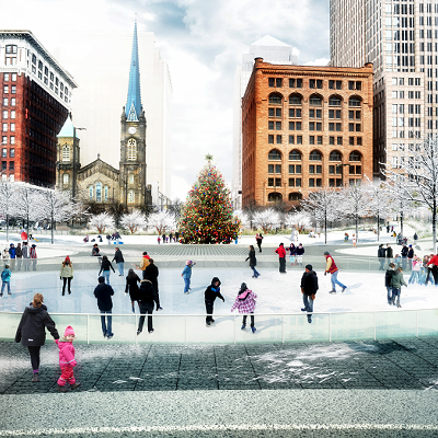 13 Photos of the Latest Plans to Redesign Public Square