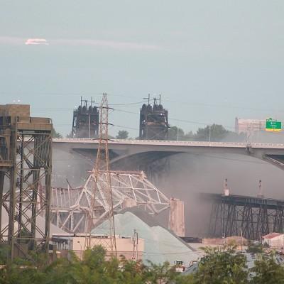 14 Photos from the Old Inner Belt Bridge Demolition