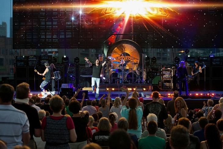 14 Photos of Boston Performing at Jacobs Pavilion at Nautica