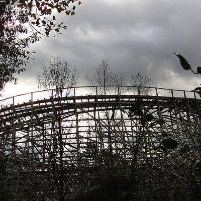 15 Photos of Abandoned Geauga Lake Amusement Park