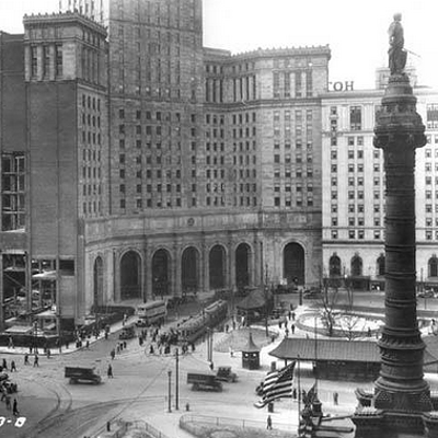 20 Historic Photos of Cleveland's Public Square