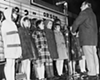 1970: German Youth Choir sings at the Christmas tree lighting at Shaker Square.