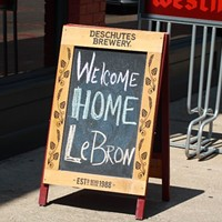20 Photos from Downtown Cleveland After LeBron's Return Announcement