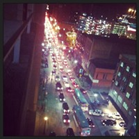 Traffic  Photo Courtesy of Lana Kecovich, Instagram,