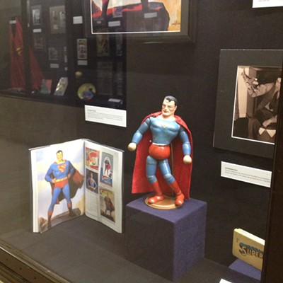 21 Cool Things You Can See at the Cleveland Public Library's Superman Exhibit