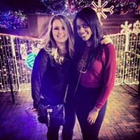 15 Photos from Your Holiday Weekend in Cleveland #216 #clevelandchristmas #horseshoe Photo via Johanna Rae, Instagram