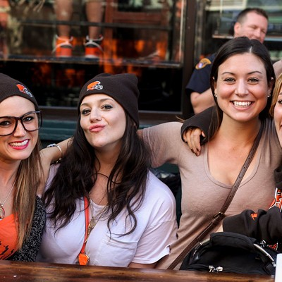 23 Photos from Yesterday's Browns Watch Party at Liquid