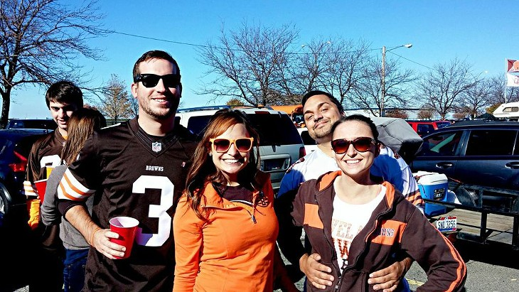 23 Photos of the Scene Events Team at the Browns vs. Raiders Muni Lot Tailgate