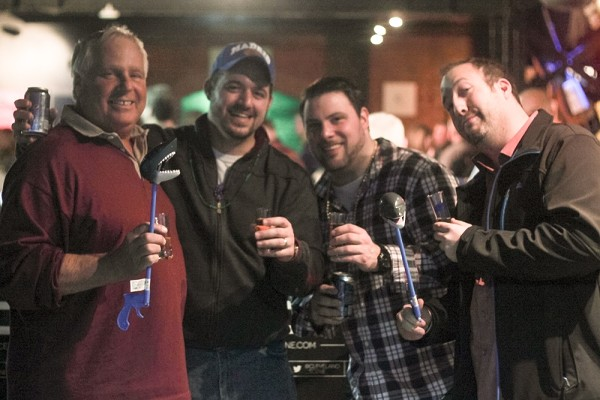 25 Photos of the Adult Swim: Whiskey and Bourbon Tasting at the Greater Cleveland Aquarium