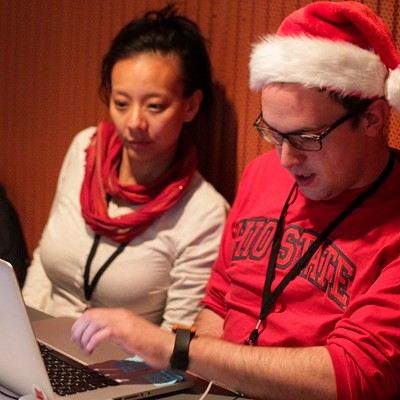 30 Photos from the Scene Magazine Holiday Hack-A-Thon at the Cleveland Public Library